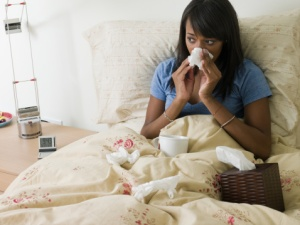 blackwoman-with-flu
